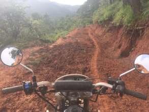 Ohhh....the muddy, muddy roads!