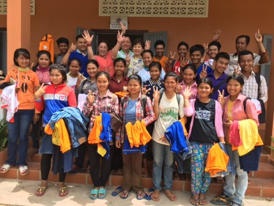 450 Cambodian children receive a better education