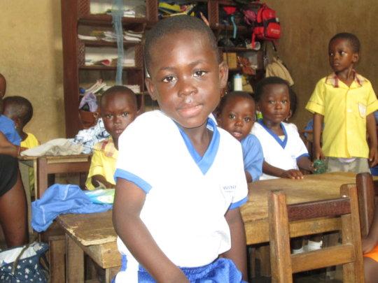 Poor Jude  needs your help to go to school, Ghana