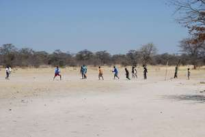 The soccer field
