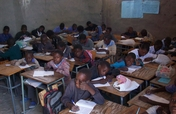 Providing a classroom for Namibian school Children