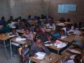 Providing a classroom for Namibian school Children
