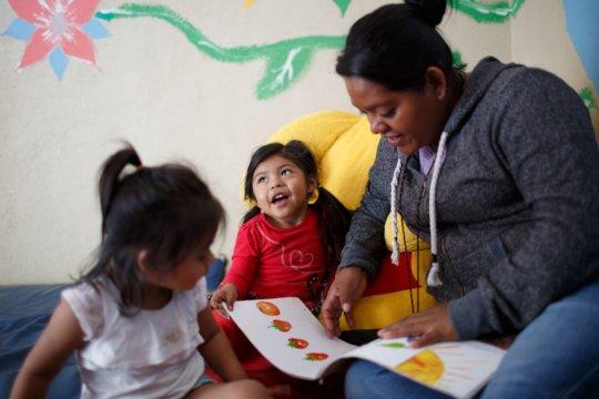 Child Caregivers at work