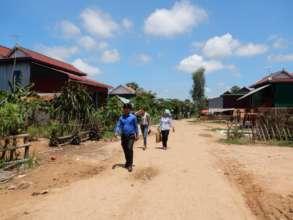 View of Barong village