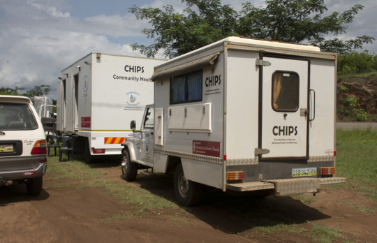 The solarized mobile clinics