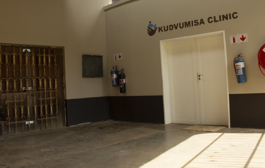 The brand new clinic in Maphiveni