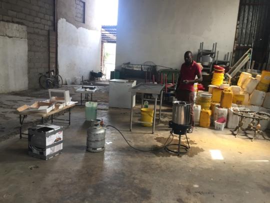 Crawfish Processing