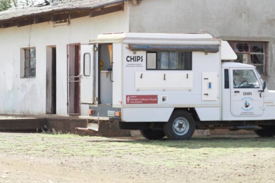 The CHIPS mobile clinic in the community