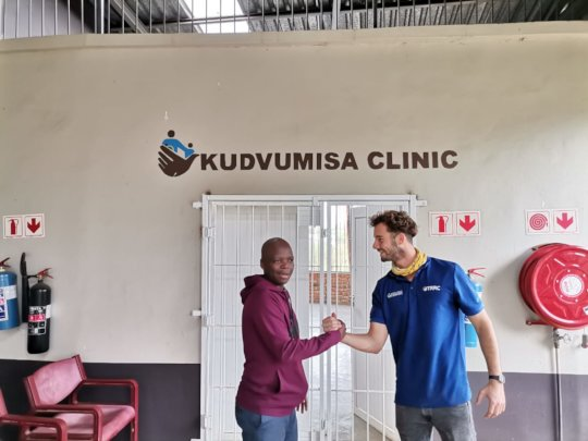 The Kudvumisa Clinic, serving the marginallized