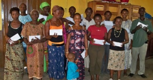 Microfinance Beneficiaries 2010