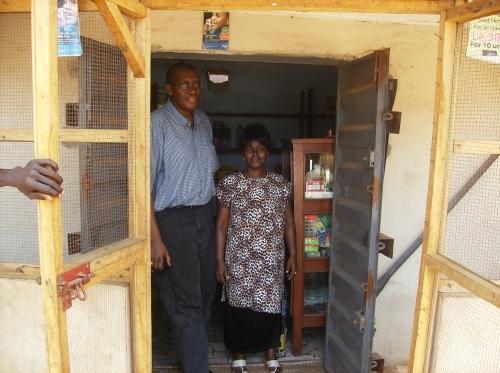 Seray and her children survive through Microfinance proceeds