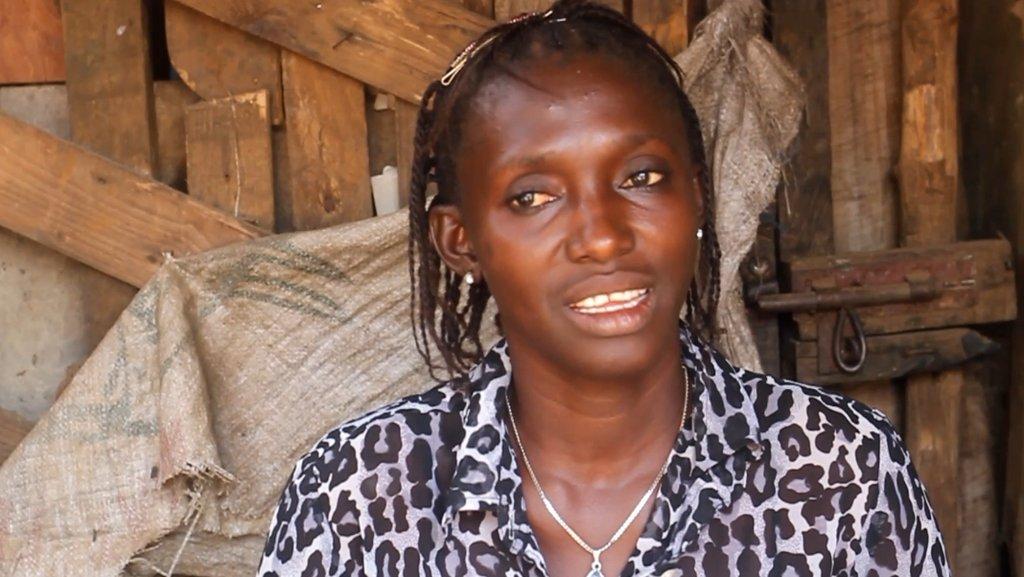 Jariatu - Microfinance beneficiary