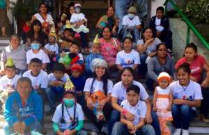 Children with cancer and their families in Oaxaca