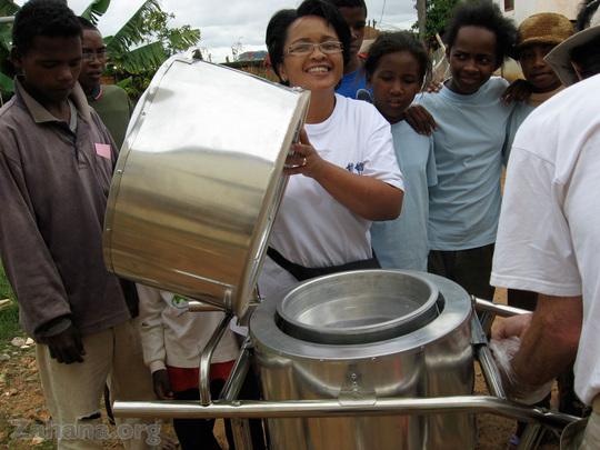 The cookbox of the BlazingTubeSolar cooker