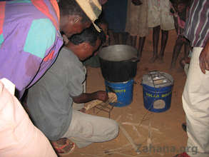 Putting the cookstove to the test...