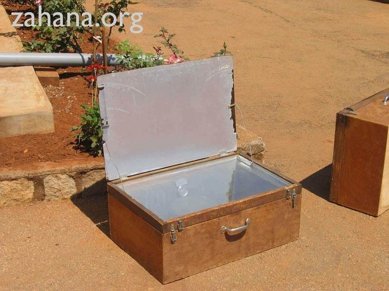 Solar cookers for the school in Fiadanana