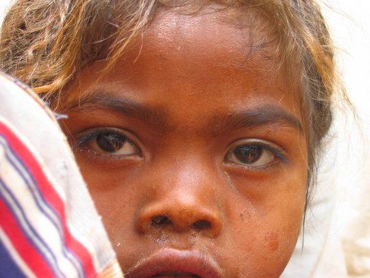 Girl in Faidanana, Madagascar