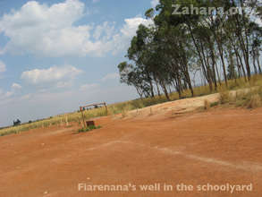 The well in the schoolyard