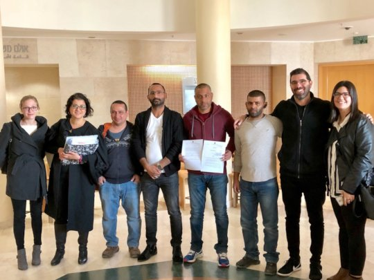 Adalah team and parents of preschoolers in court