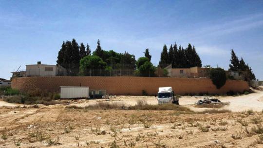 Wadi el-Na'am school powered by generator (Adalah)