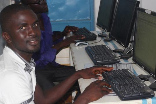 Joshua - making progress with computer training
