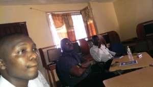 Participants at training