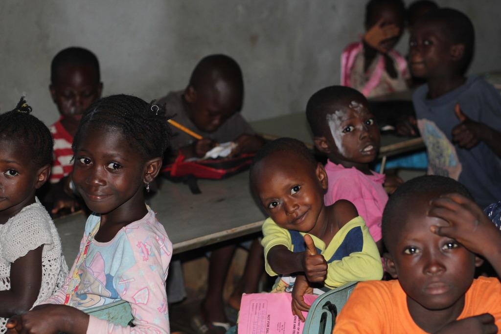 Children at DAETI