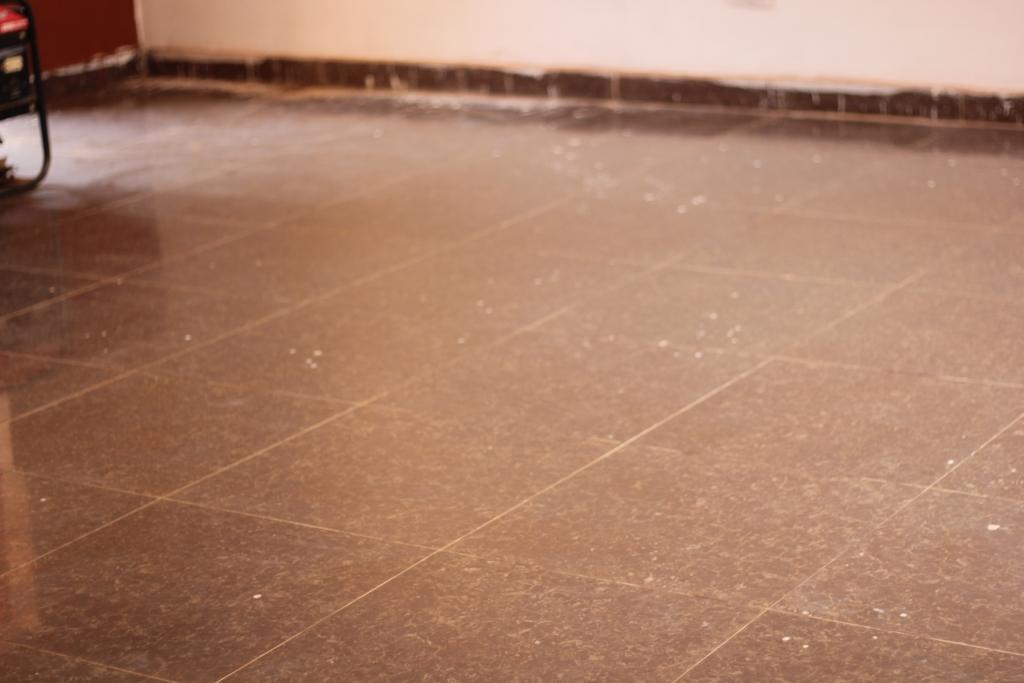 tiled computer floor