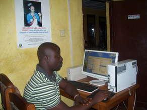 Andrew - training beneficiary