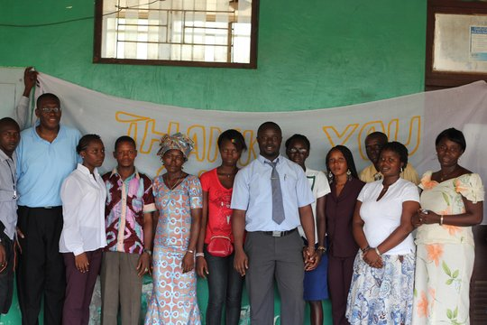 Sylvester, Hannah and other members of AIDSL