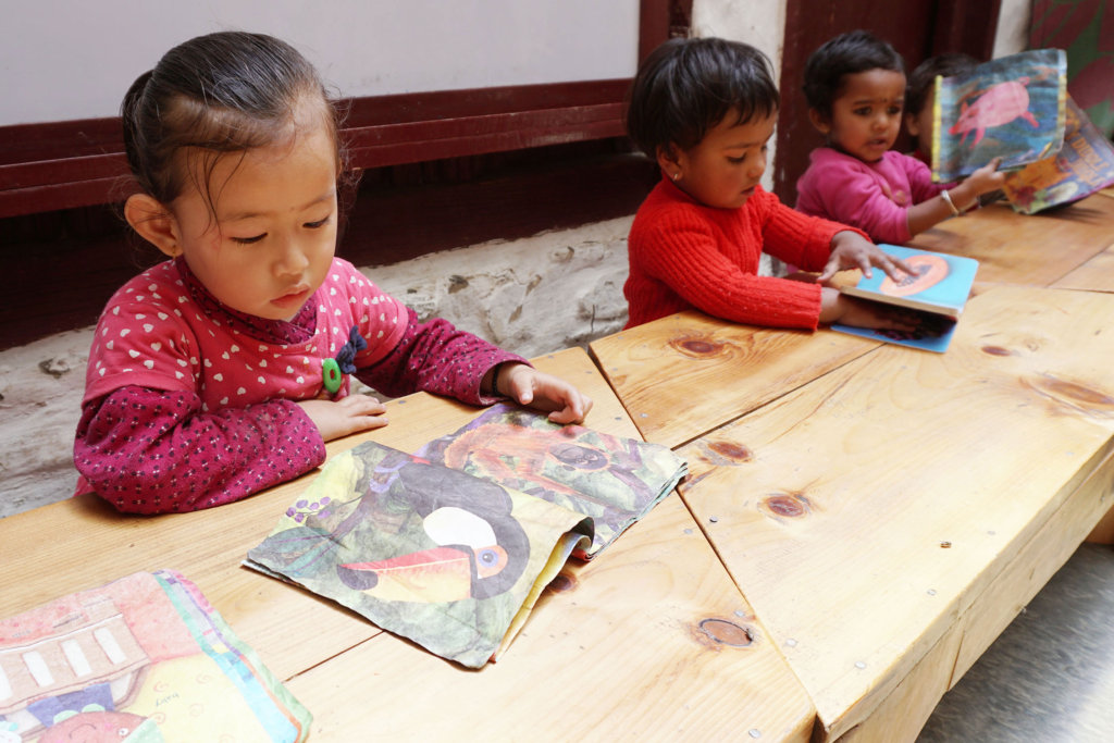 Hands-on Minds-on learning in Rural Nepal
