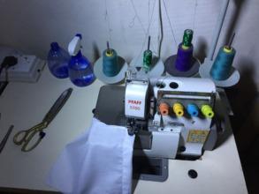 Overlock Machine purchased through GG donations