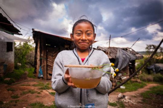 Daughter of Nahua partner from Santa Ana Tzacuala
