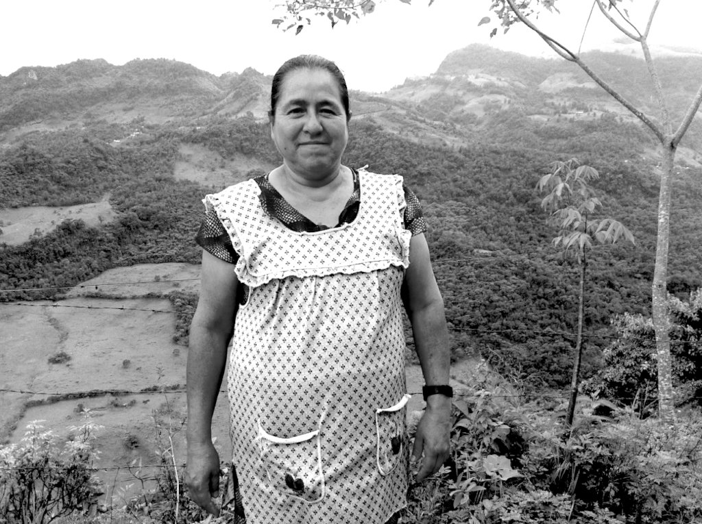 "Guillermina, Otomi leader of ""Flor del Bosque"""