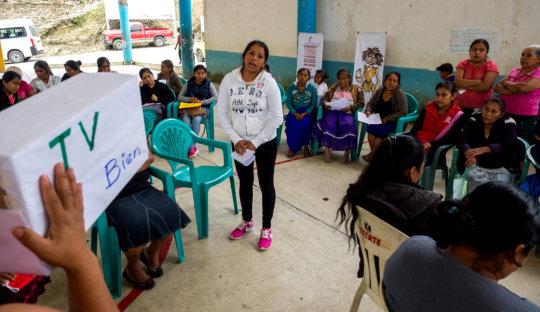 Workshop, women autonomy & citizen participation