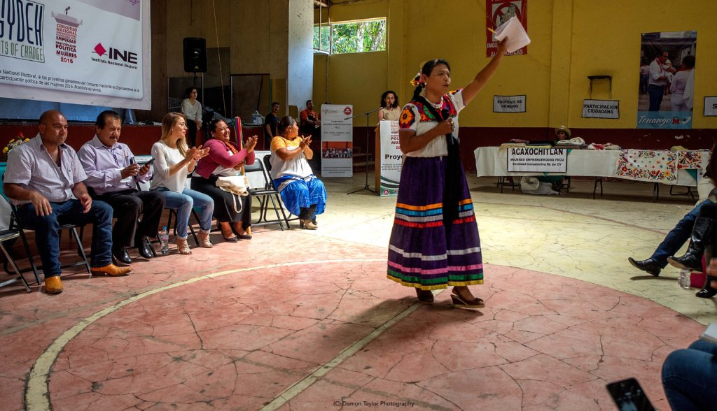 Native Veracruz leader speaks of women in politics