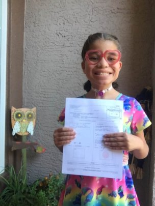 Chrystal's Court Papers Into her Forever home