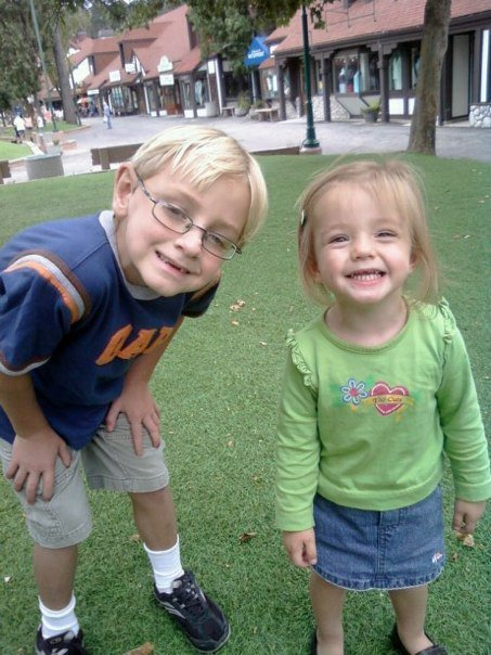 Sammy and His Sister Autumn