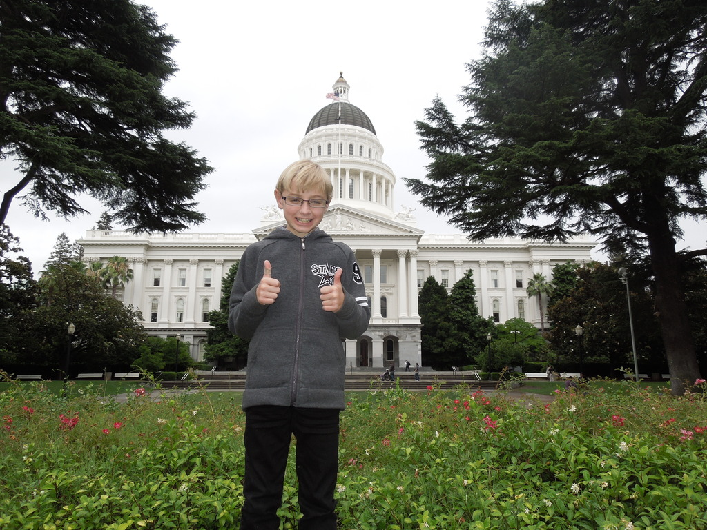 Sammy at the Capitol