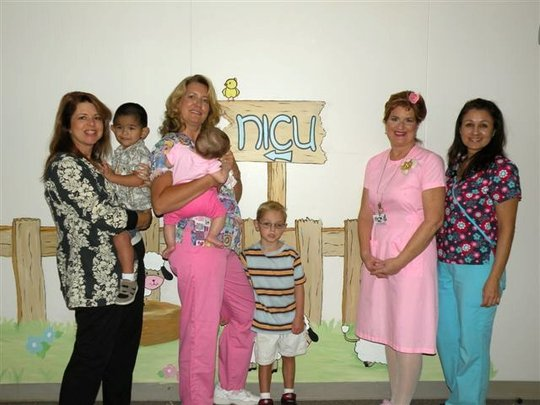 Our Founder With Nurse-Foster Providers