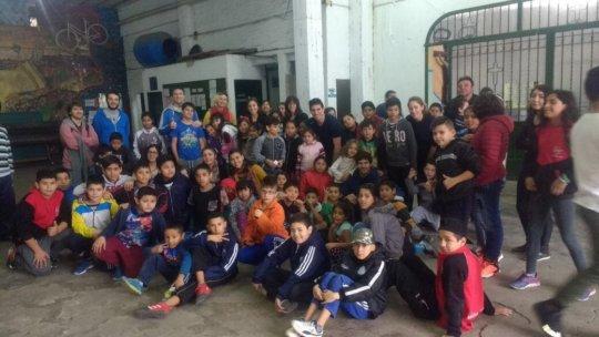 More than 80 children ages 6-13 participate