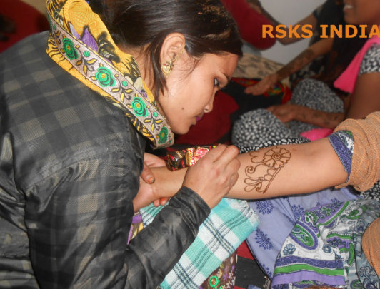 Empower Young needy Girls by vocational education