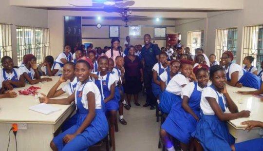 Girls in ICT Day - Reagan College, Lagos
