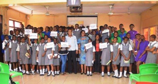 Girls in ICT Day - Laureates College, Lagos