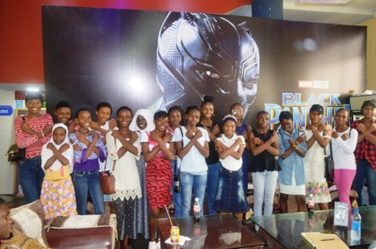 W.TEC Alumnae Watch Black Panther