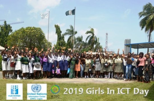 Int'l Girls in ICT Day with UNIC & UN Women