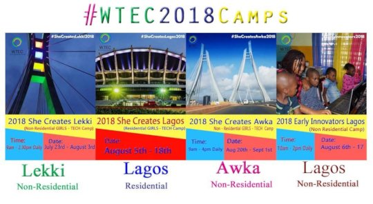 2018 She Creates Camp Flier