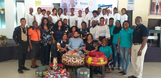 Tech & Entrepreneurship Project with Rotary Club