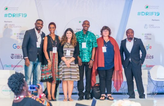 Panel at 2019 Digital Rights & Inclusion Forum
