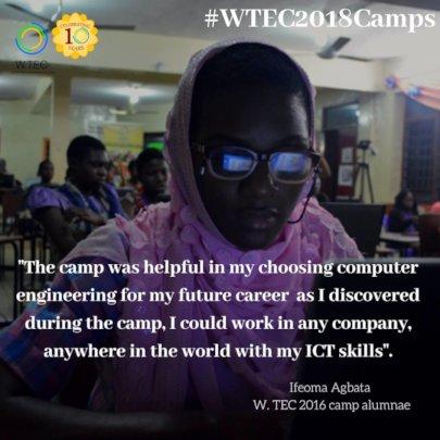 W.TEC Camp Alumna Shares Feedback
